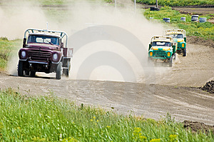 Lorry On Race Royalty Free Stock Photography - Image: 5396827