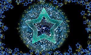 Starry Stock Photo - Image: 5398240
