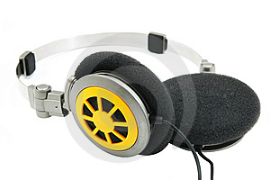 Portable Headphones 1 Stock Photos - Image: 5399653