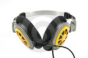 Portable Headphones 2 Stock Image - Image: 5399661