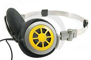 Portable Headphones 3 Royalty Free Stock Photo - Image: 5399715