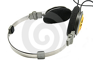 Portable Headphones 4 Stock Photo - Image: 5399720