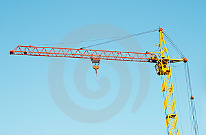 Lifting Crane 1 Stock Photography - Image: 5399992
