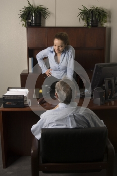 Demanding Explanations Royalty Free Stock Photography - Image: 542387