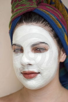 Facial Treatment Stock Image - Image: 544911