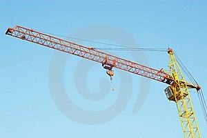Lifting Crane 2 Stock Photo - Image: 5400000