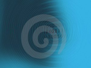 Blue Spinning Numbers Royalty Free Stock Photography - Image: 5400187