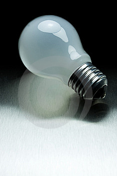 Series Of Lightbulbs Stock Photos - Image: 5401363