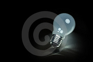 Series Of Lightbulbs Royalty Free Stock Photography - Image: 5401367