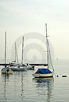 Sailboat Moorings Royalty Free Stock Photos - Image: 5403708