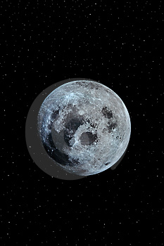 Moon 1 Royalty Free Stock Photo