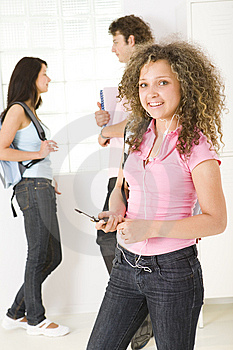 Time Between Lesson Stock Images - Image: 5407744