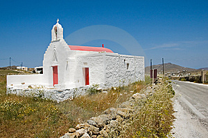 Greek Church Royalty Free Stock Image - Image: 5408096