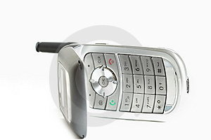 Open Cell Phone Stock Image - Image: 5413171