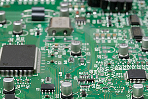 Close-up Circuit Board Stock Images - Image: 5414004