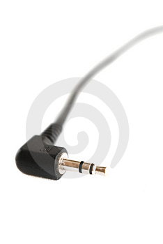 Audio Cable Stock Image - Image: 5417151