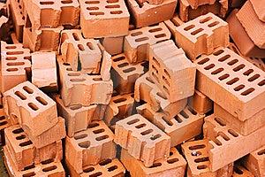 Heap Of Bricks Royalty Free Stock Photography - Image: 5420117