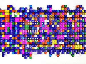 Squares With Different Colors Royalty Free Stock Images - Image: 5421739