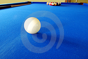 Pool Table Stock Photo - Image: 5422370