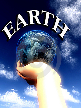 Earth Word  Stock Photography - Image: 5422982