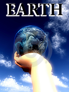 Earth Word  Stock Photos - Image: 5423013