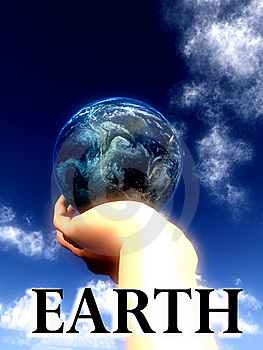 Earth Word  Stock Photography - Image: 5423022