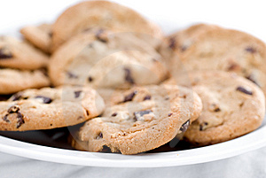 Closeup Of Cookies Royalty Free Stock Photography - Image: 5433447