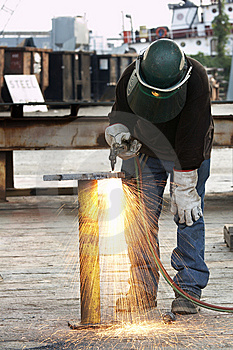 Burn Steel Stock Photography - Image: 5433702