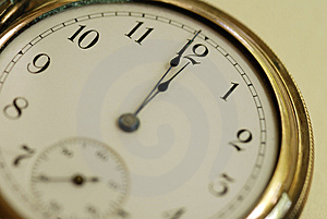 Pocket Watch Time Royalty Free Stock Images