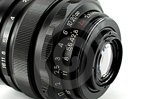 Wide-angle Lens Royalty Free Stock Photo - Image: 5434475