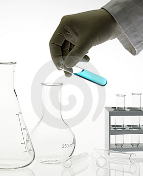 Test tube Stock Image