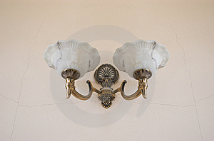 Bronze Lamp Retro. Stock Photos - Image: 5438723