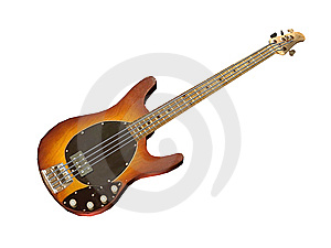 Ellegance Electric Guitar Royalty Free Stock Image - Image: 5439426