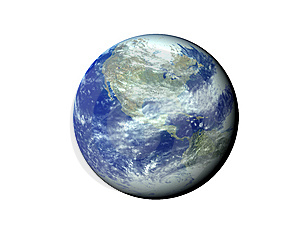 Blue Planet Royalty Free Stock Photo - Image: 5439655