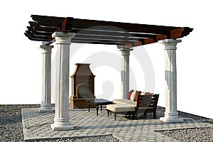 Fire Place Royalty Free Stock Image - Image: 5439796