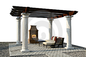 Fire Place Stock Photo - Image: 5439800