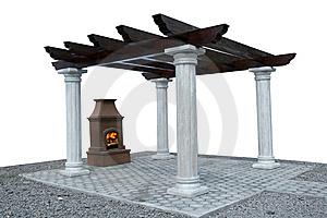 Fire Place Stock Photography - Image: 5439862