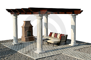 Fire Place Stock Image - Image: 5439881