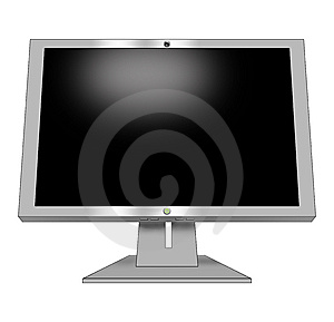 Monitor Royalty Free Stock Photography - Image: 5440197