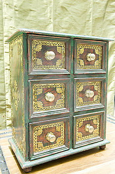 Antique Drawer Set. Stock Photo - Image: 5441070