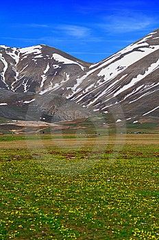 Plateau Landscape Royalty Free Stock Photography - Image: 5441267