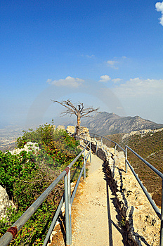 St. Hilarion Fortress Stock Images - Image: 5441764