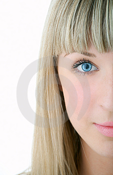 Beauty girl portrait Royalty Free Stock Images
