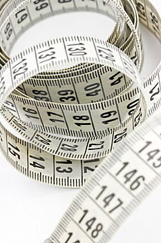 Measuring Tape Stock Photo - Image: 5446060