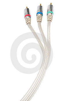 Component Video Cable Royalty Free Stock Photos - Image: 5448748