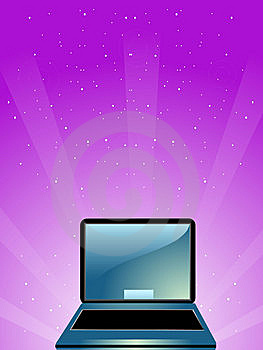 Portable Computer Royalty Free Stock Images - Image: 5452329