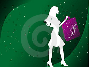 Fashionable Lady Royalty Free Stock Image - Image: 5452566
