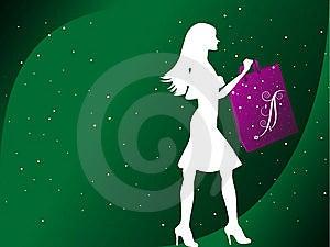 Fashionable Lady Royalty Free Stock Image - Image: 5452566