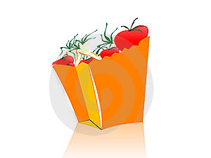 Vegetable In Packet Stock Photo - Image: 5452630