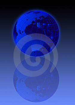 Earth Globe Illustration Royalty Free Stock Photo - Image: 5453435
